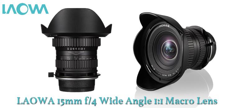 Laowa 15mm f/4 Wide-Angled 1:1 Macro Lens