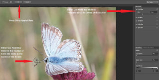 Photoshop 2014 – Focus Blur Tutorial